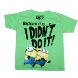 #Despicable Me - I didn't do it #T-Shirt: Clothing  #minions   |  Shop Santas Year Around Toy Shop | Best Christmas Gifts | Buy gifts for kids | #Santas_Toy_Shop #Thor #marvel #Christmasgifts #kidstoys #toys #Christmas_2013 #apparelgifts #boystees #girlstees  #xbox360 #videogames #kidsmovies #greatgifts #bestgifts #Thor #boys_toys #boardgames #Disney #Epic  |   http://www.santasyeararoundtoyshop.com