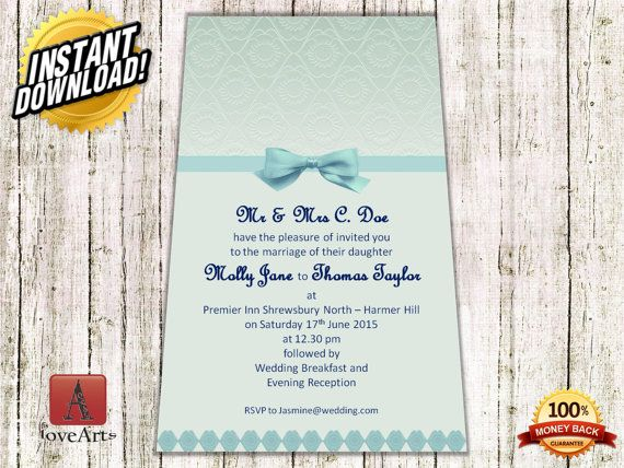 Hey, I found this really awesome Etsy listing at https://www.etsy.com/listing/233591581/instant-download-2in1-wedding-card-fully