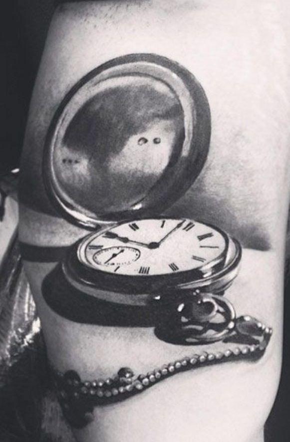 Pocket watch sketch | Tattoos | Pinterest | Watches ...