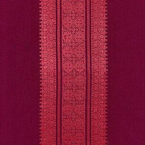 Schumacher  Saree Stripe  Mulberry  Fabric