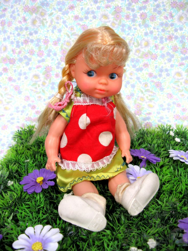 Vintage Doll - 1970s Doll - Plastic Doll - 70s Doll - Vinyl Doll - Old Doll - Made In Hong Kong - Girl Doll - 1970s Toys - Vintage Dolly by MissieMooVintageRoom on Etsy