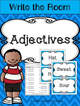 This is an adjectives activity that your students can enjoy in a small group, independent, or as a class.  They will go around the room with their recording sheet to find adjectives around the room.  The purpose of this activity is to help students understand what an adjective is and what an adjective is not.Here is what is included:-12 Adjectives to put up around the room.-12 other words to put around the room.-Recording Sheet-Answering Sheet***Please leave feedback because it helps you…