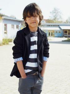 burda style: Kinder - Jungen - Gr. 92 - 188 - Jacken & Sweater - Blazer aus Sweatshirtstoff