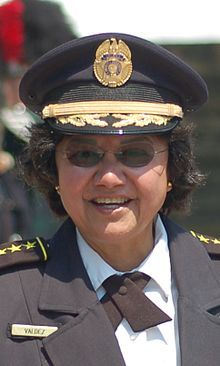 Dallas County Sheriff Lupe Valdez, openly lesbian