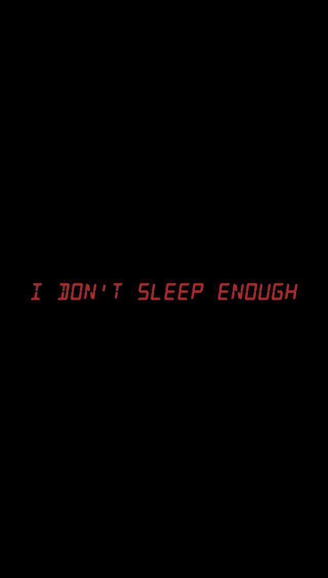 Schlaf kann mich nicht heilen