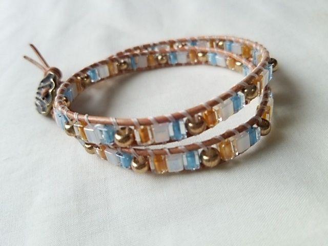 ラップブレスレット作り方 beads plusのブログ