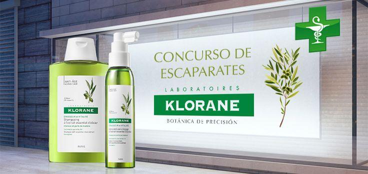 Vota por tu escaparate de farmacia favorito de Klorane Olivo y podrás ganar uno de los 10 lotes de productos Klorane que se sortean.