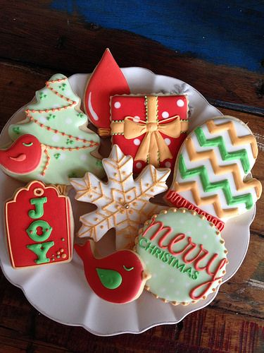 Christmas season cookies
