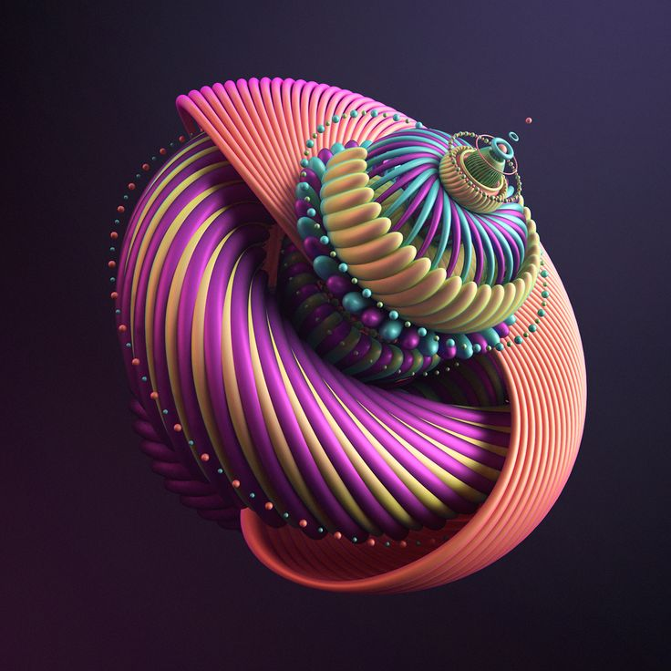 Rik Oostenbroek / FLOWERBOMB #3D #render #digital #art