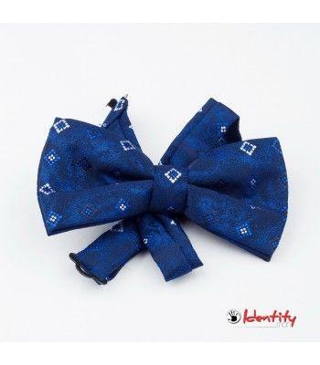 Papion albastru stilish