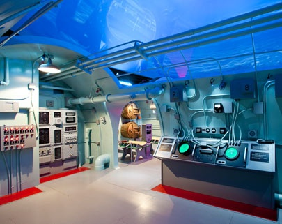Final Mission: The USS Tang Submarine Experience places visitors aboard the most successful submarine in World War II for its fifth and final war patrol on 25 October 1944. A must see experience!