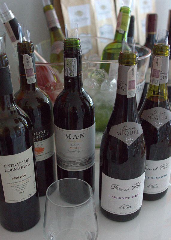 Plenty of bottles...