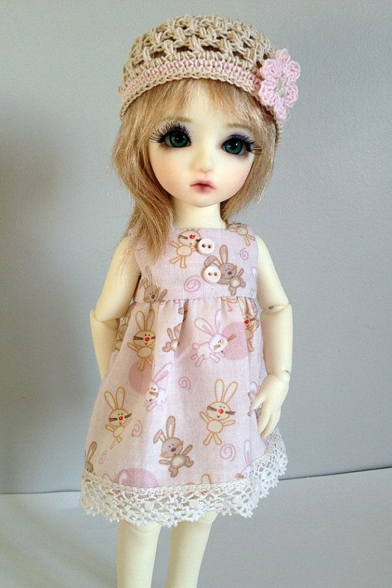 Bunny Dress Outfit for 1/6 Yosd BJD with by AdrianneInspired