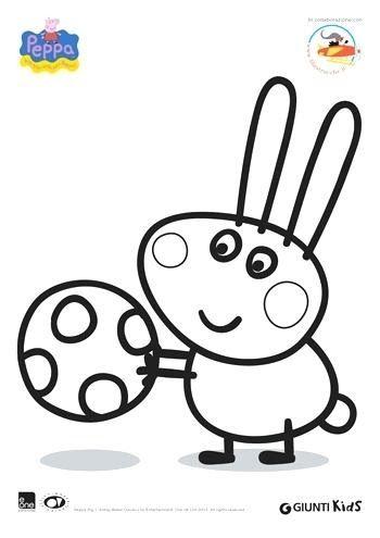 Peppa Pig Disegni Da Stampare E Colorare Un Libro E Costituito Da Un