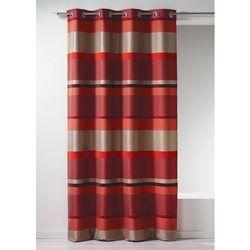 Rideau Bouchara en jacquard à rayures horizontales design HOME MAISON