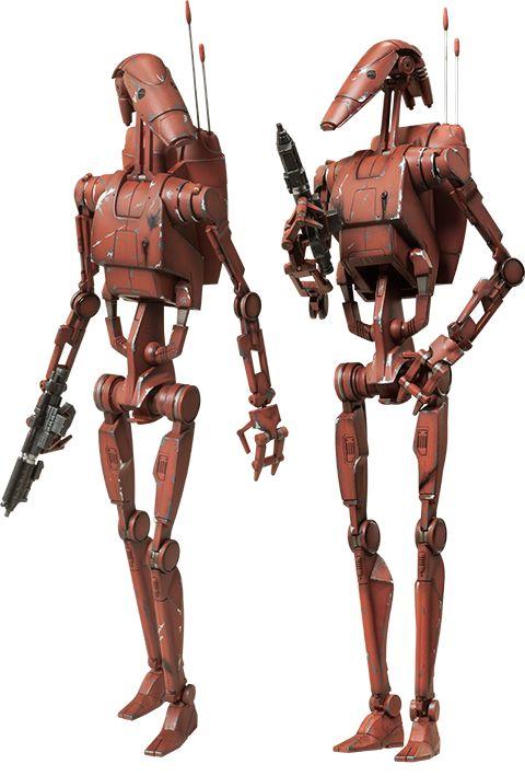 Pre-Order Sideshow Star Wars Geonosis Battle Droids Figure Set