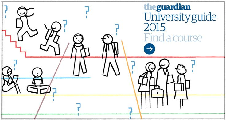 The Guardian - good university guide 2015