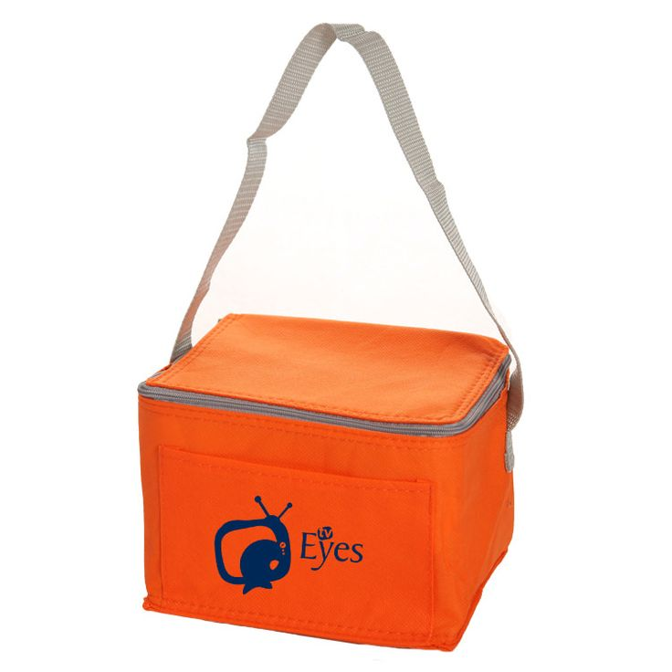 Non-Woven Six Pack Lunch Cooler Bag - TCB107