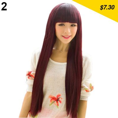 Great item for everybody. 2015 Hot New Style Fashion Long Straight Women Girls  Full Cover Wig Cosplay Party Makeup Tool - $7.30 http://mobileshop2.info/products/2015-hot-new-style-fashion-long-straight-women-girls-full-cover-wig-cosplay-party-makeup-tool/