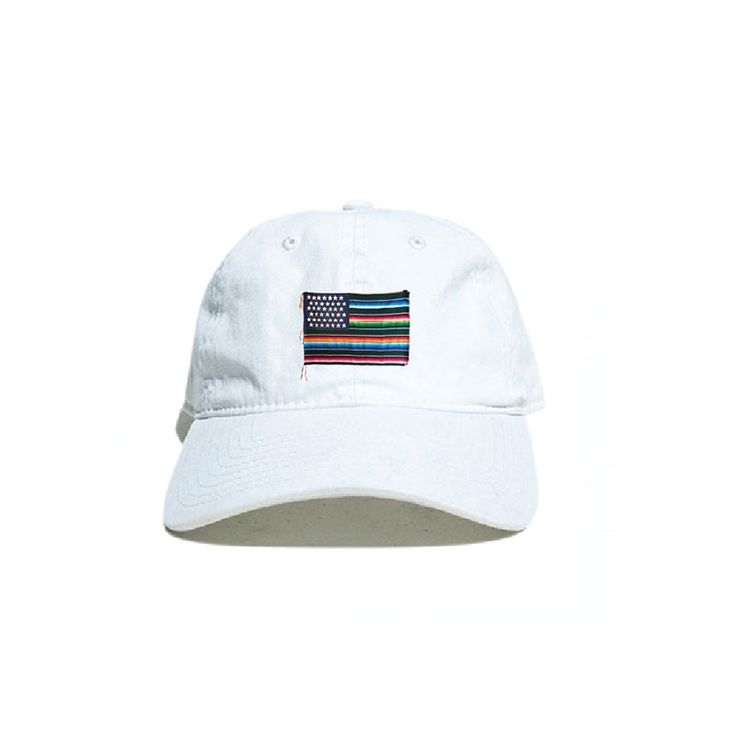 Akomplice x Nacho Becerra - Mi Bandera Dad Hat, White