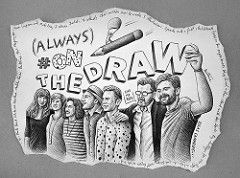 On The Draw in the Canary Islands (Ben Heine) Tags: travel friends summer portrait santacruz art smile face illustration photography team spain friend scenery horizon young sketchbook artists frame laugh tenerife prints discovery sourire canaryislands quipe visage islascanarias pressconference illustrators stevesimpson paulabonet benheine iberostarhotel hashtag malikafavre jensmagnusson madsberg photobybenheine ekaterinakoroleva onthedraw veintiochoymedio onthedrawa