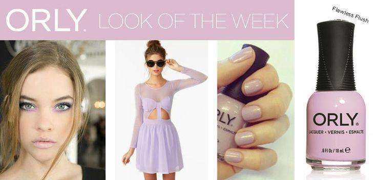 Lilac Blush con Smalto ORLY Flawless Flush http://shop.smaltiorly.it/catalogo/prodotti_dettaglio.asp?brand=orly&cat=smalti&subcat=collezione-blush&art=or20500-flawless-flash&page=1