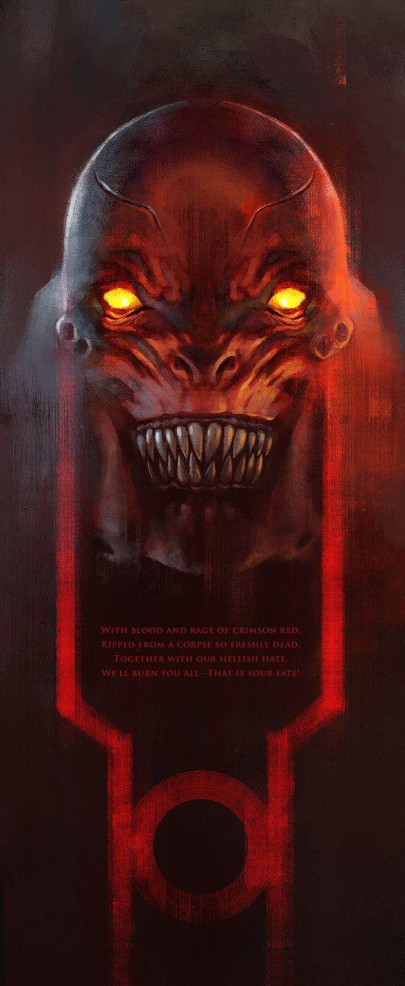 Lord Atrocitus; Red Lantern oath