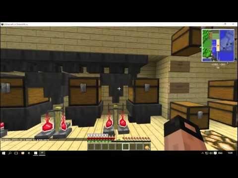 Варочный аппарат,универсальный.Minecraft