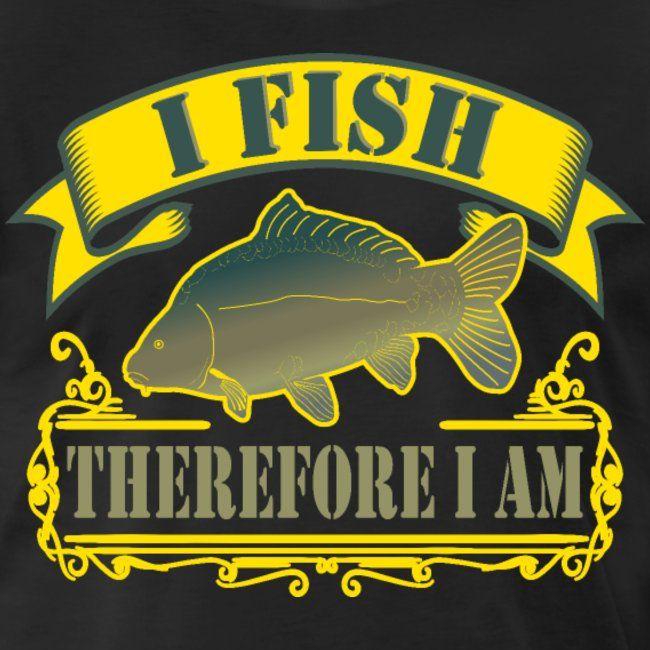 My Favorite Shirt | Ich fische darum bin ich Angler Spruch