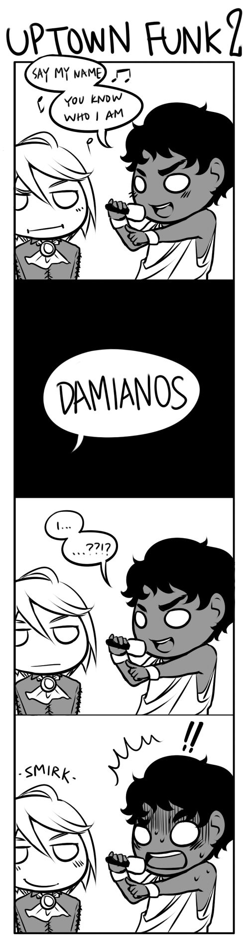Captive Prince. Laurent and Damen. kaerb recently did a super amazing strip with... - Welcome to Wonderland.