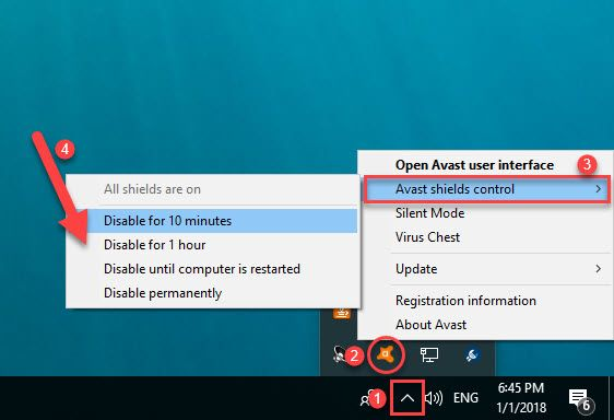 In this tutorial, learn how to turn off Avast Antivirus temporarily