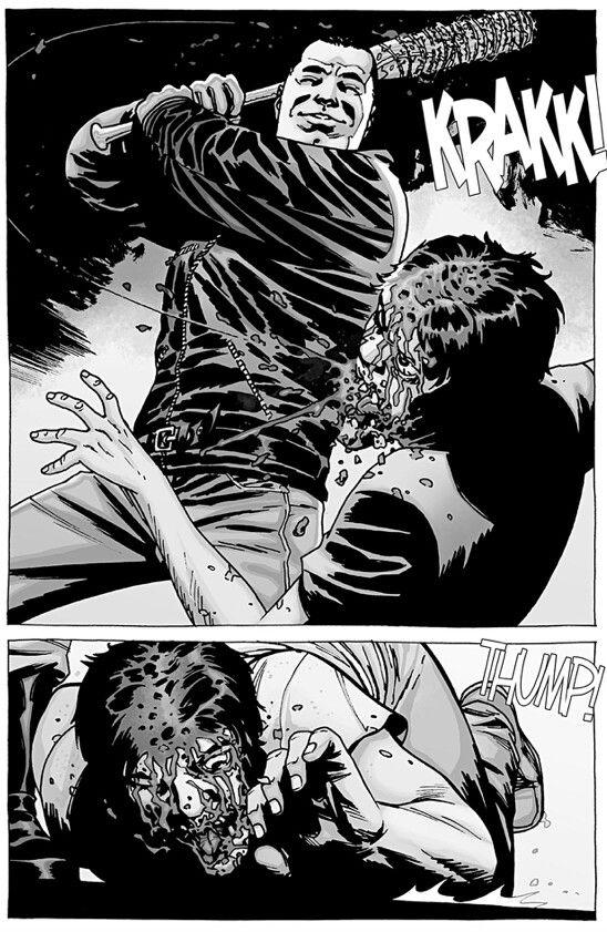 Negan kills Glenn