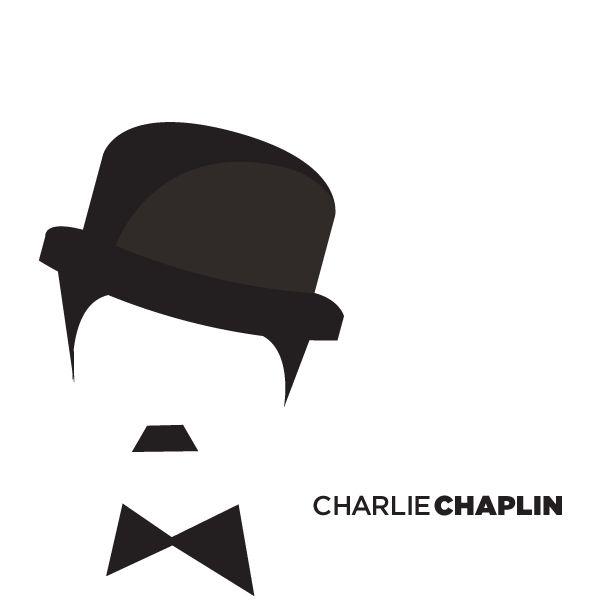 Reatros Vectoriales - Charles Chaplin