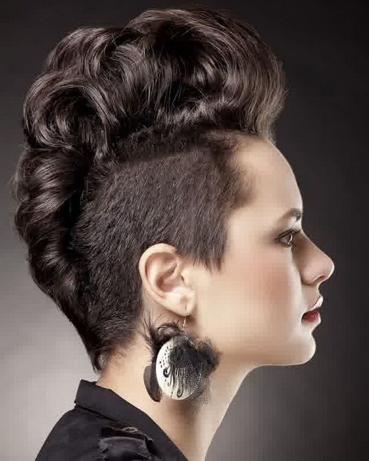 Fabulous 1000 Ideas About Mohawk Hairstyles For Women On Pinterest Short Hairstyles Gunalazisus