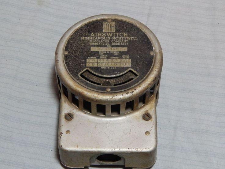 Vintage Minneapolis Honeywell Airswitch Thermostat