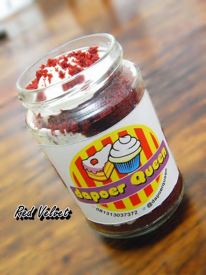 Dapoer Queen: Red Velvet in Jar