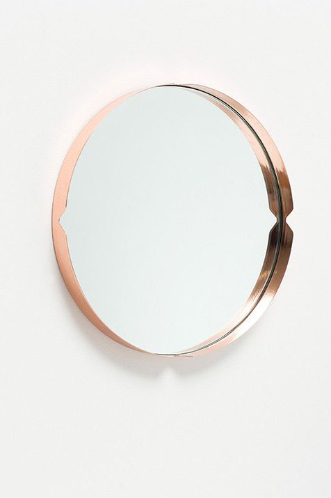 Tim Webber - Press Mirror, Copper