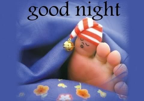Good night and sweet dreams, all of you awesome people out there in recovery!!!!