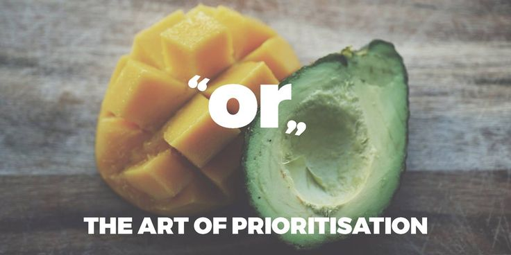 Prioritisation: Doing important Things, Not Urgent Ones. We start our goals with the best intentions, but we get lost. How do we prioritise what to do next?