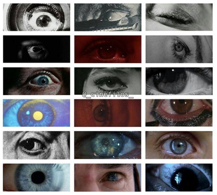 Primeros famosos planos de ojos... ¿Reconocéis las pelis? ¿Nombraríais alguno que echéis en falta?
