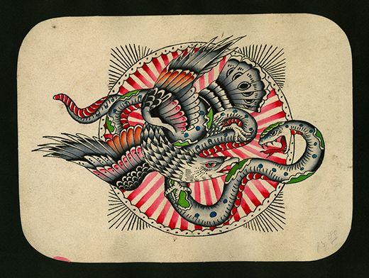 Tattoo: Flash Art of Amund Dietzel