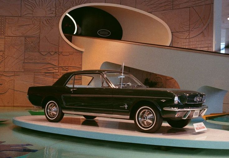 The 10 Most Iconic Mustangs of All Time: 1964 ½ Ford Mustang