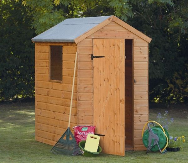 the 6ft x 4ft shiplap apex shed could be termed the default shed for many gardeners