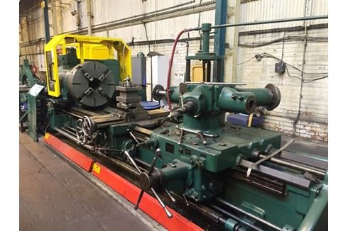 Brand: Herbert Type/Model: 14/36 Turret Lathe Stock Number: : SN 749 --------------Technical details----------- Chuck diameter: 800 mm Collet diameter: 0 mm Spindle bore: 216 mm CNC Brand: No CNC