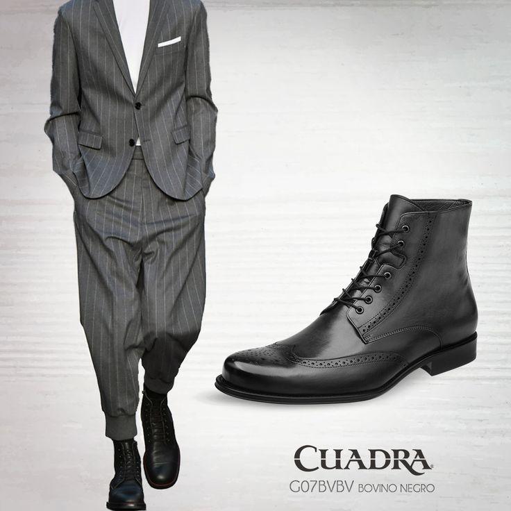 El 2017 da la bienvenida a  los trajes relajados, una manera de sentirte más cómodo, sin necesidad de perder tu estilo. #moda#boot#shoes#caballero#leather#2017#style#readytowear#streetstyle#cuadra