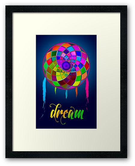 Dream - Framed print