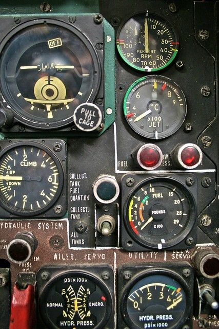 Aviation. Old School. Note the field modifications.
