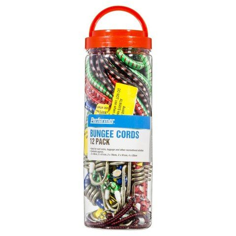 Bungee Cords - Pack of 12