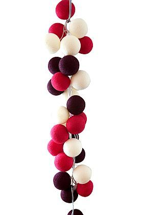 Handmade String Lighting ~ Cherry Pop