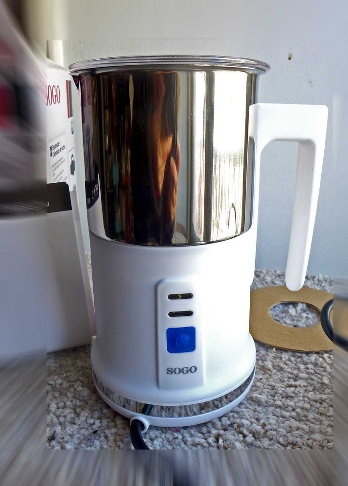 Milk Frother Skimmer Caffe Latte Cocoa Hot Drinks SOCO #Soco